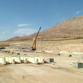 آغاز پروژه ساخت کارخانه تهران گوار