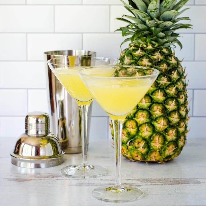 کوکتل آناناس با آبجو