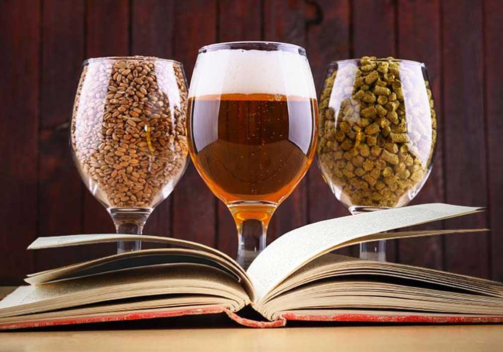 لیوانهای آبجو و کتاب